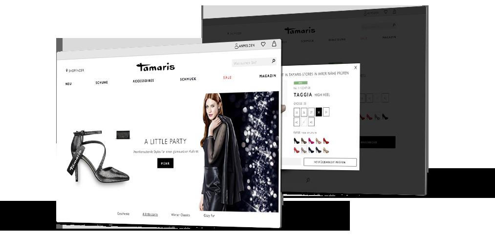 Projekt für Tamaris – Bildschirm PC