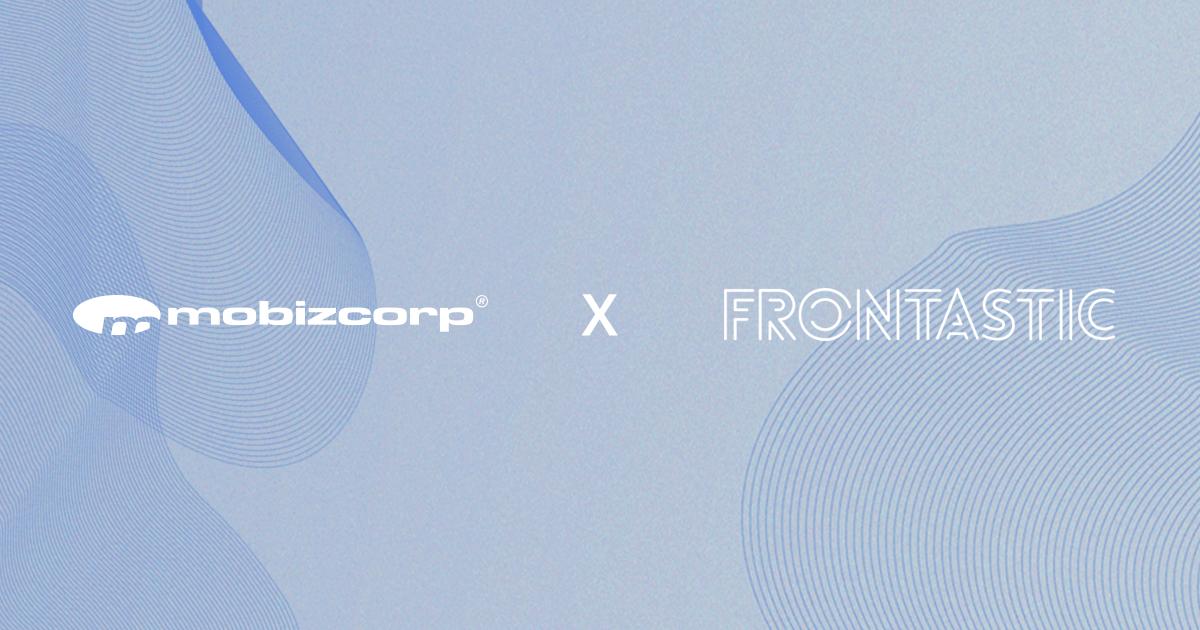 Mobizcorp und Frontastic geben Partnerschaft bekannt