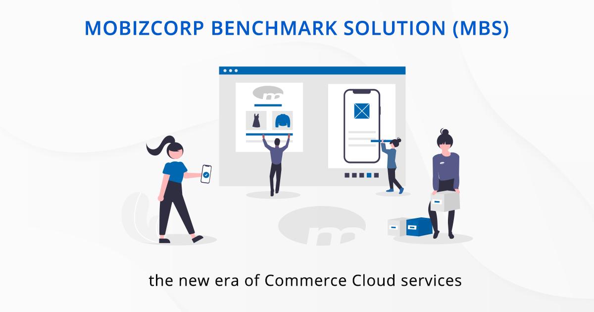 Mobizcorp Benchmark Solution for Salesforce Commerce Cloud